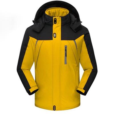 (พร้อมส่งสีเหลือง XL) เสื้อโค๊ทกันหนาว เสื้อโค๊ทกันหิมะ ลุยหิมะ เสื้อใส่อุณภูมิติดลบ