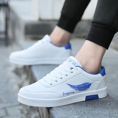 รองเท้าผู้ชาย ราคาถูก รองเท้าผ้าใบ รองเท้าแฟชั่น เกาหลี มี สีตามรูป มี ไซร์ 39-44