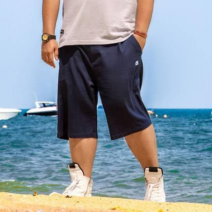 ขนาด:36 38 40 42 44 46 48 สี:น้ำเงิน/ดำ/กากี/เขียว/เทา กางเกงคนอ้วน กางเกงผู้ชาย ขนาดใหญ่ กางเกงขาสั้น