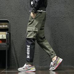 กางเกงผู้ชาย ราคาถูก กางเกงลำลอง กางเกงฮาเร็ม มี สีดำ สีเขียว มี ไซร์ M L XL 2XL 3XL 4XL 5XL