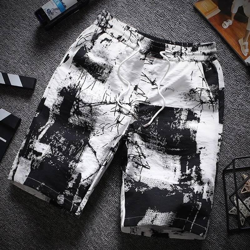 ขนาด:2XL 3XL 4XL 5XL 6XL 7XL 8XL สี:ตามภาพ กางเกงคนอ้วน กางเกงผู้ชาย ขนาดใหญ่ กางเกงขาสั้น