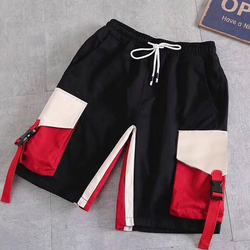 ขนาด:2XL 3XL 4XL 5XL 6XL 7XL 8XL สี:ดำ กางเกงคนอ้วน กางเกงผู้ชาย ขนาดใหญ่ กางเกงขาสั้น