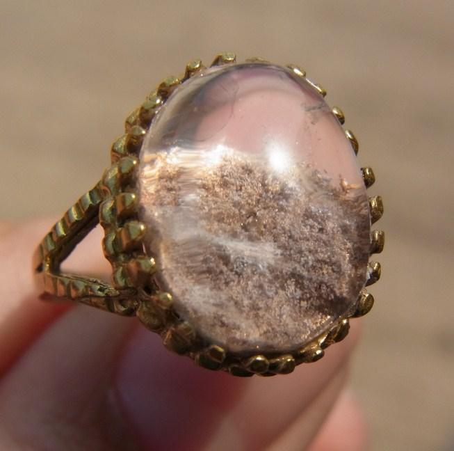 แหวนทองเหลือง  แก้วปวก เบอร์ 54
