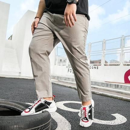 ขนาด:XL 2XL 3XL 4XL 5XL 6XL 7XL สี:กากี/เทา/ดำ/น้ำเงิน กางเกงคนอ้วน กางเกงผู้ชาย ขนาดใหญ่ กางเกงขายาว