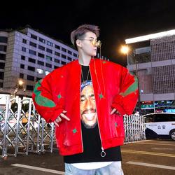 เสื้อผ้าผู้ชาย ผู้หญิง ราคาถูก เสื้อแจ็คเก็ต เสื้อกันหนาว มี สีแดง สีดำ มี ไซร์ M L XL 2XL