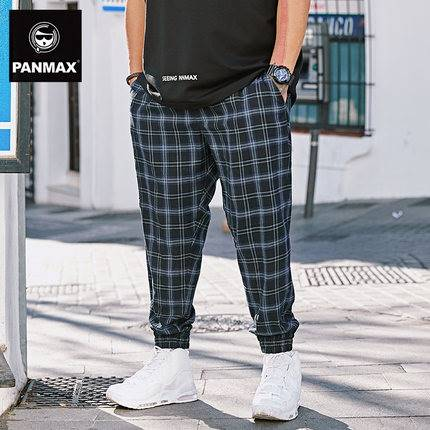 ขนาด:2XL 3XL 4XL 5XL สี:น้ำเงิิน กางเกงคนอ้วน กางเกงผู้ชาย ขนาดใหญ่ กางเกงขายาว