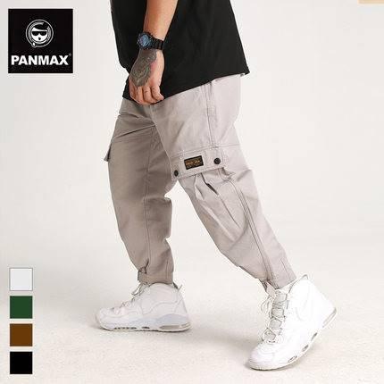 ขนาด:2XL 3XL 4XL 5XL 6XL สี:เทา/เขียว/ดำ/กากี กางเกงคนอ้วน กางเกงผู้ชาย ขนาดใหญ่ กางเกงขายาว