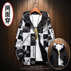 เสื้อผ้าผู้ชาย ผู้หญิง ราคาถูก เสื้อแจ็คเก็ต ใส่สองด้าน มี สีส้ม สีแดง สีดำ มี ไซร์ M L XL 2XL 3XL 4XL