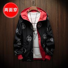 เสื้อผ้าผู้ชาย ผู้หญิง ราคาถูก เสื้อแจ็คเก็ต ใส่สองด้าน มี สีแดง สีดำ มี ไซร์ S M L XL 2XL 3XL 4XL