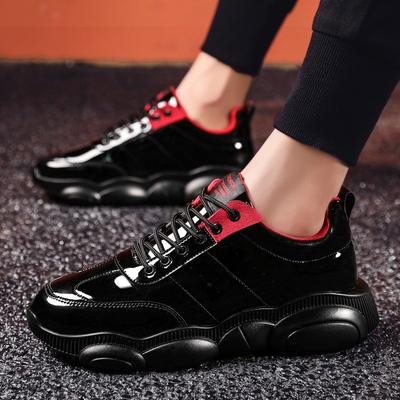 รองเท้าผู้ชาย ราคาถูก รองเท้าแฟชั่น รองเท้าผ้าใบ เกาหลี มี สีดำ สีปีน มี ไซร์ 38-44
