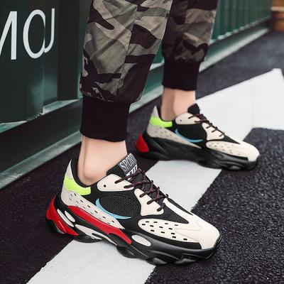 รองเท้าผู้ชาย ราคาถูก รองเท้าแฟชั่น รองเท้าผ้าใบ เกาหลี มี สีดำ สีขาว สีครีม สีขาวหลายสี มี ไซร์ 38-44