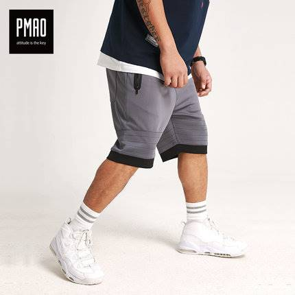 ขนาด:2XL 3XL 4XL 5XL 6XL สี:เทา กางเกงคนอ้วน กางเกงผู้ชาย ขนาดใหญ่ กางเกงขาสั้น