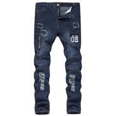 กางเกงผู้ชาย ราคาถูก กางเกงยีนส์ กางเกงลำลอง กางเกงขายาว มี สีน้ำเงินเข้ม สีเทาเข้ม มี ไซร์ M L XL 2XL