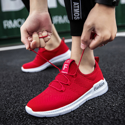 รองเท้าผู้ชาย ผู้หญิง ราคาถูก รองเท้าแฟชั่น รองเท้าผ้าใบเท่ๆ มี สีแดง สีดำ สีขาว มี เบอร์ 36-46
