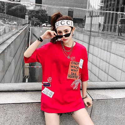 เสื้อผ้าผู้ชาย ผู้หญิง ราคาถูก เสื้อยืดฮิปฮอป มี สีขาว สีดำ สีแดง มี ไซร์ M L XL 2XL