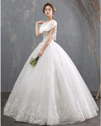 ชุดเจ้าสาวชุดแต่งงาน