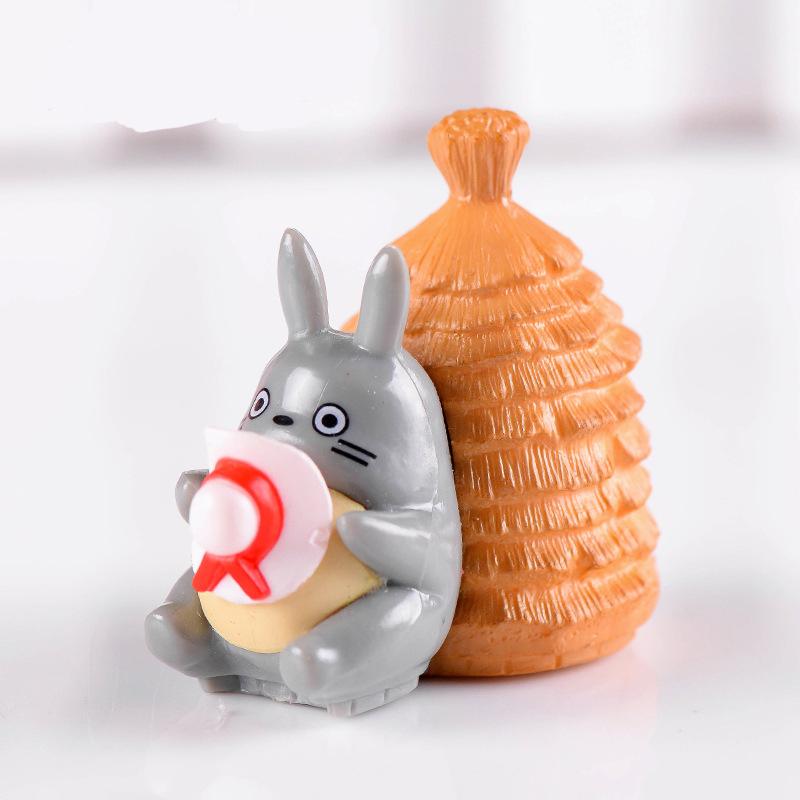 พร้อมส่ง>> DIYตุ๊กตาโทโทโร่เพื่อนรักตกแต่งสวนจิ๋ว ตุ๊กตาจิ๋ว