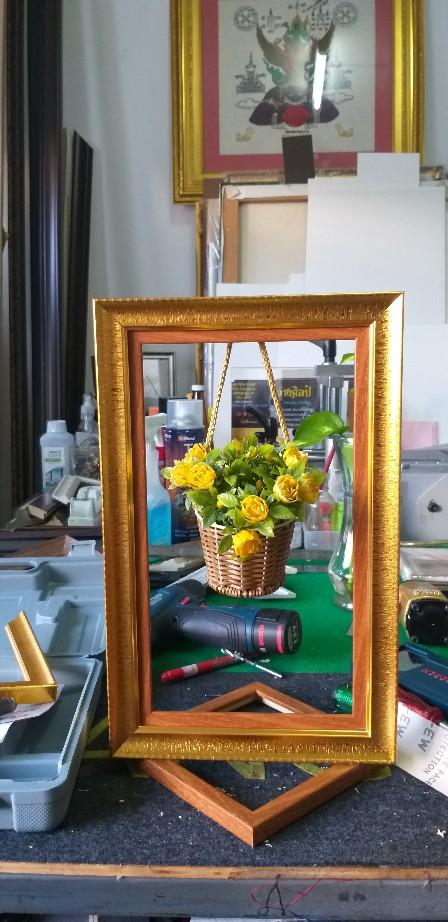 กรอบ DIY   กระจกใส