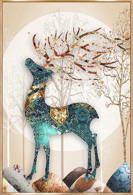 A deer of money (พิมพ์ลาย)