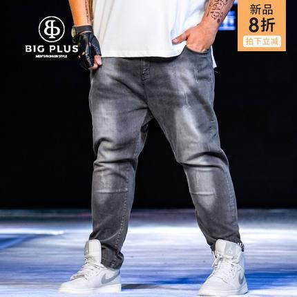 ขนาด:36 38 40 42 44 46 48 สี:ตามภาพ กางเกงคนอ้วน กางเกงผู้ชาย ขนาดใหญ่ กางเกงยีนส์ ขายาว