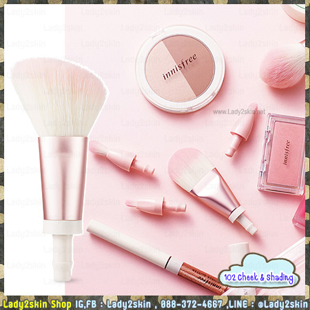 My Changeable Brush 102 Cheek & Shading