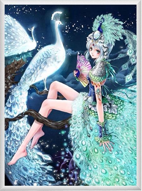 Peacock princess (พิมพ์ลาย)