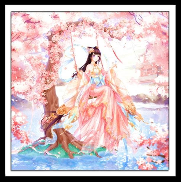 Sakura girl (พิมพ์ลาย)