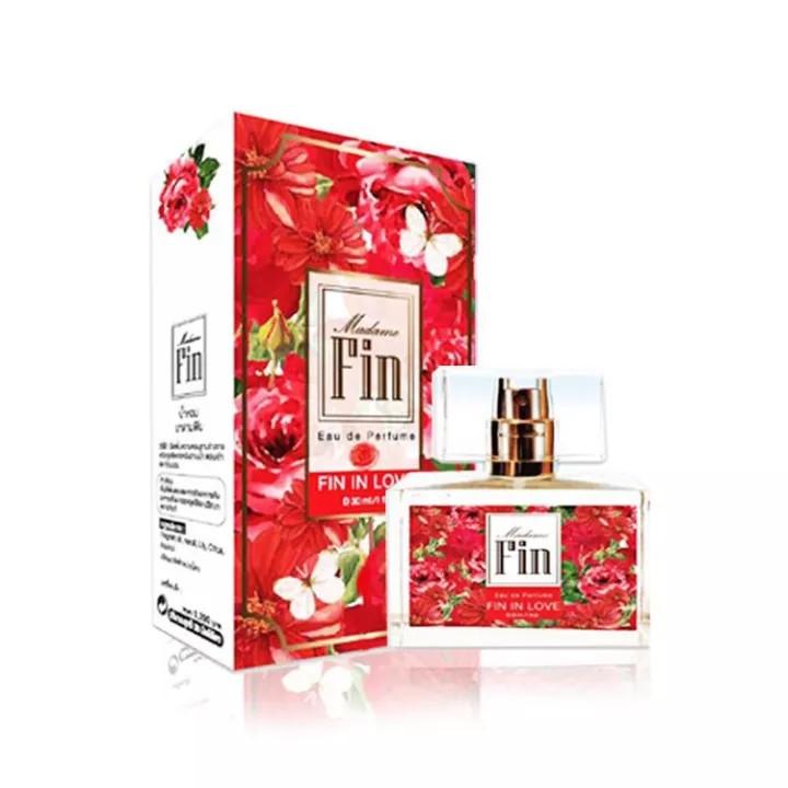 น้ำหอมมาดามฟิน(Fin in Love สีแดง) 1 ขวด ขนาด 30 ml.