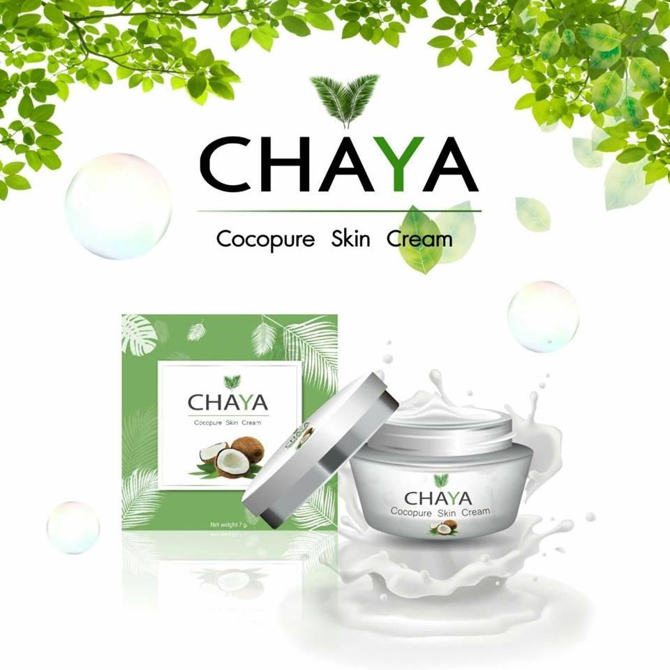 CHAYA Cocopure Skin Cream ชยา ครีมน้ำมันมะพร้าว ขนาด 12กรัม