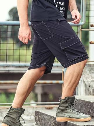 ขนาด:XL 2XL 3XL 4XL 5XL 6XL สี:แดง/เทา/ดำ/เขียว กางเกงคนอ้วน กางเกงผู้ชาย ขนาดใหญ่ กางเกงขาสั้น
