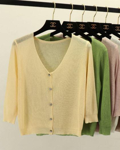 พรีออเดอร์ เสื้อคลุมไหมพรม แขนยาว ผ้าไหมพรม เสื้อคลุมแฟชั่นเกาหลีสวย ๆ จั๊มแขน สี เทา โอรส ขาว ดำ ม่วง น้ำตาล เขียว ครีม