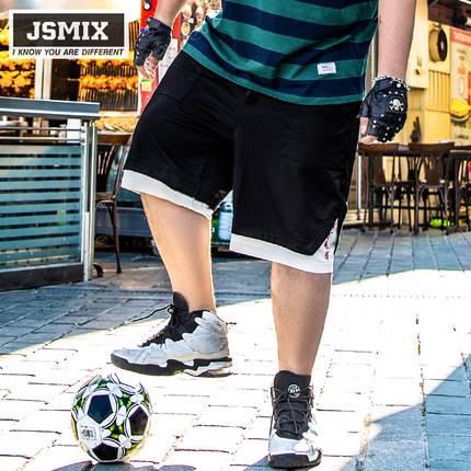 ขนาด:36 38 40 42 44 46 48 สี:ดำ กางเกงคนอ้วน กางเกงผู้ชาย ขนาดใหญ่ กางเกงขาสั้น