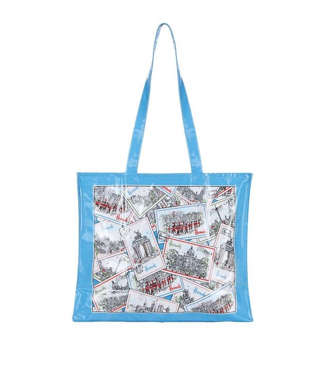 Harrods สะพายไหล่ รุ่น London Postcards Shoulder Bag (พร้อมส่ง)