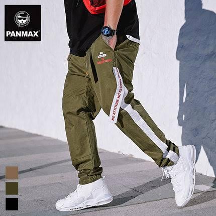 ขนาด:2XL 3XL 4XL 5XL สี:กากี/ดำ กางเกงคนอ้วน กางเกงผู้ชาย ขนาดใหญ่ กางเกงขายาว