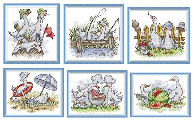 Swan of love (พิมพ์ลาย)