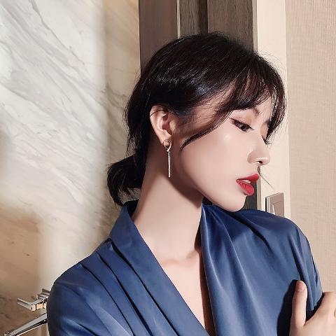 ต่างหูแฟชั่นเกาหลี ต่างหูผู้หญิง เครื่องประดับผู้หญิง