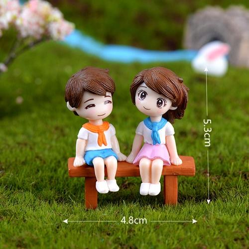พร้อมส่ง>> DIYตุ๊กตาตกแต่งสวนจิ๋ว ตุ๊กตาตกแต่งสวนขวด ตุ๊กตาตกแต่งบ้าน
