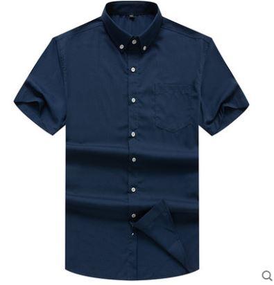 ขนาด:2XL 3XL 4XL 5XL 6XL 7XL 8XL  เสื้อคนอ้วน เสื้อผ้าผู้ชาย ขนาดใหญ่ เสื้อเชิ้ต แขนสั้น