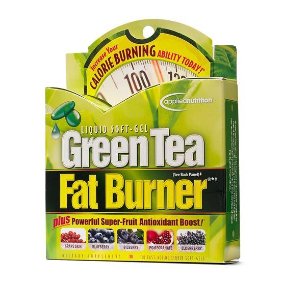 **พร้อมส่ง**Applied Nutrition Green Tea Fat Burner Plus 30 Softgels อาหารเสริมลดน้ำหนักขายดีจากอเมริกาสูตรใหม่ เพิ่มตัวบำรุงผิวต้านความแก่ ผิวเนียนชมพูมีเลือดฝาด ช่วยเผาผลาญไขมัน ยับยั้งการดูดซึมไขมันใหม่ทำให้ส่วนเกินหายไป สกัดจากธรรมชาติ ไม่มีผลข้างเคียง
