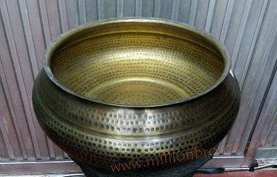 B009 อ่างทองเหลือง Brass Big Bowl