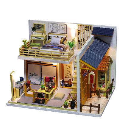 เปิดจอง>> DIYโมเดลร้านอาหารญี่ปุ่น โมเดลจิ๋ว โมเดลบ้านตุ๊กตา ชุดอุปกรณ์ครบเซ็ตในกล่อง