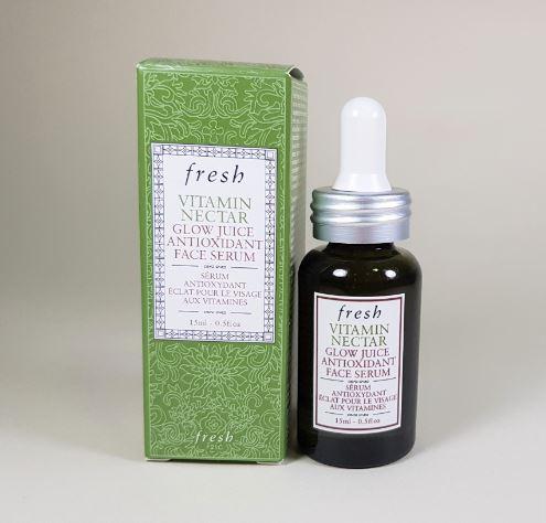 **พร้อมส่ง**Fresh Vitamin Nectar Glow Juice Antioxidant Face Serum 15 ml. เซรั่มตัวใหม่ เติมเต็มผิวด้วยความชุ่มชื้น จากวิตามินสกัดจากพืชผักผลไม้ให้ผิวดูโกลว์สวย สุขภาพดี