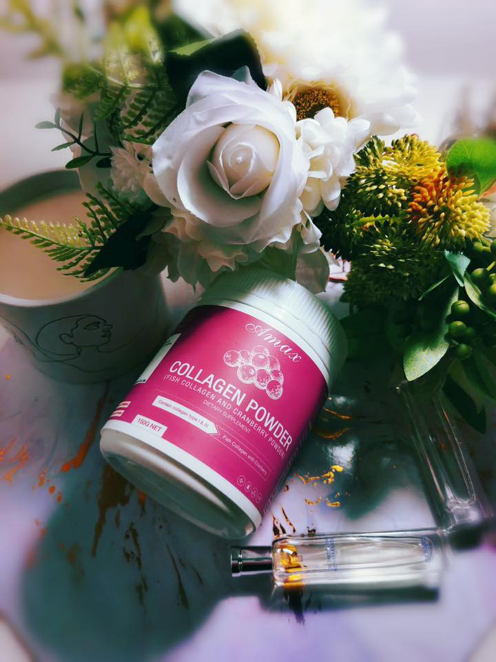Amax Collagen Powder 150,000 mg. เอแม็ก คอลลาเจน