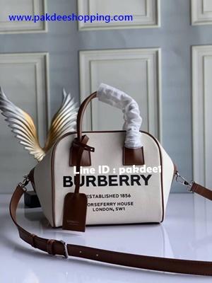Burberry bag งานออริจินอล size 22 cm งานหนังแท้ งานสวยเหมือนแท้