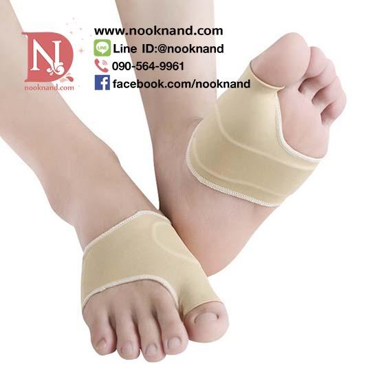 อุปกรณ์เท้าบรรเทาอาการปวดฝ่าเท้าและบรรเทาอาการปวดกระดูกนิ้วเท้าโปน ลดการเสียดสีจากการใส่รองเท้าคับหรือเป็นตาปลา