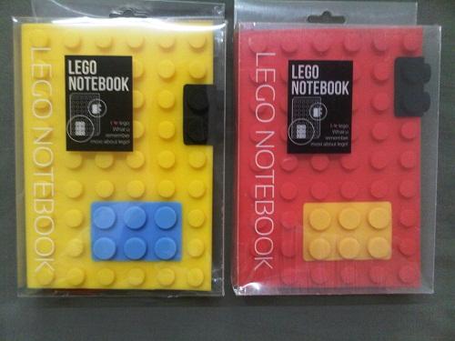 ขายส่ง Notebook Lego : สมุดโน๊ตรูปแบบ logo สำหรับเป็นสินค้าพรีเมี่ยม สินค้าส่งเสริมการขาย