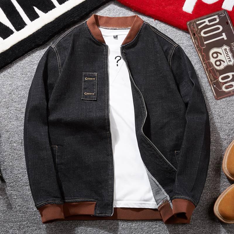 ขนาด:3XL 4XL 5XL 6XL 7XL 8XL สี:ดำ เสื้อคนอ้วน เสื้อผ้าผู้ชาย ขนาดใหญ่ เสื้อแจ็คเก็ต