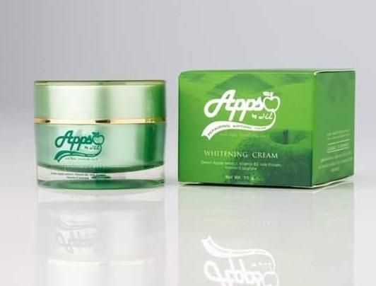 Appso Reparring whitening cream แอปโซ ครีมรกแอปเปิ้ลสูตรเข้มข้น