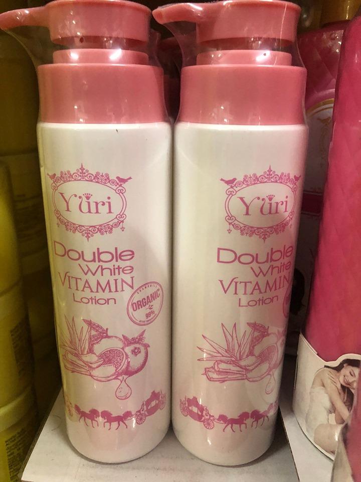 โลชั่นยูริ Yuri Double White Vitamin Lotion แพคเกจใหม่ ขนาด 250 มล.