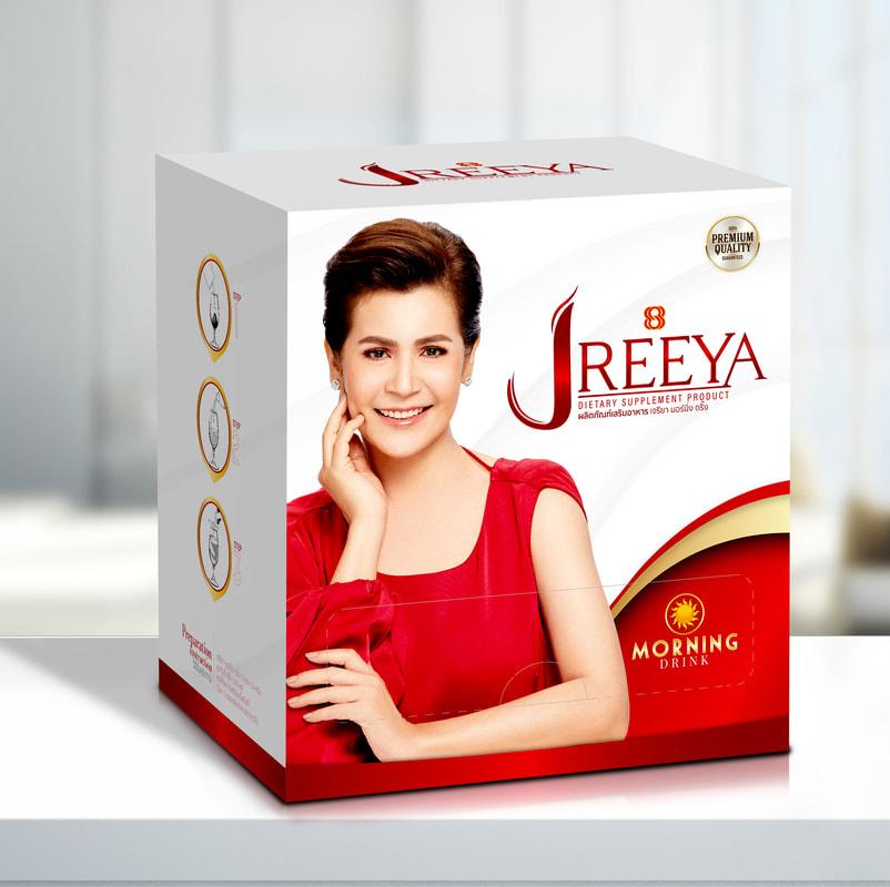 JReeya เจรียา อาหารเสริม นกจริยา สูตรเช้า (กล่องแดง)